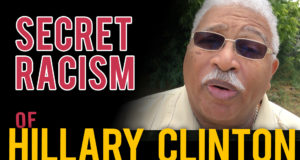"Pastor speaks out! Racist Hillary wants to abort black babies- ""unborn have no rights"""